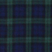 Photo of Blackwatch Tartan fleece fabric