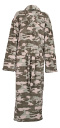 Photo of light camouflage fleece dressing gown