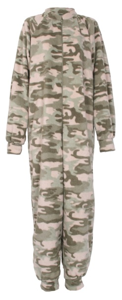Light Camouflage onesie