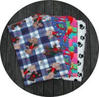 Single Sided Fleece Blankets