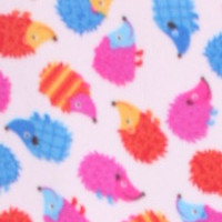 Photo of Hedgehog fleece fabric