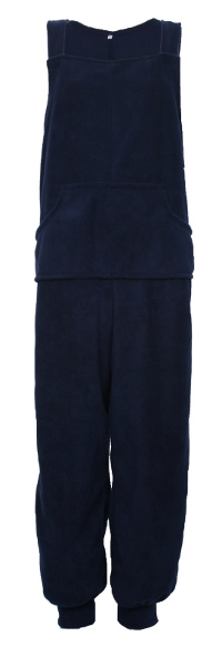 Photo of Fleece Dungarees with poppers on legs