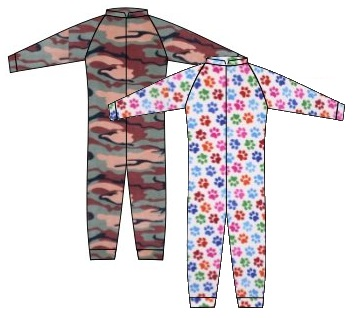 Photo of new onesie fabrics
