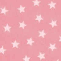 Photo of Pink Stars fleece fabric