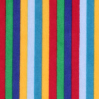 Photo of Primary Stripe fleece fabric