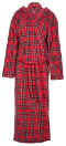 Photo of royal stewart tartan fleece dressing gown